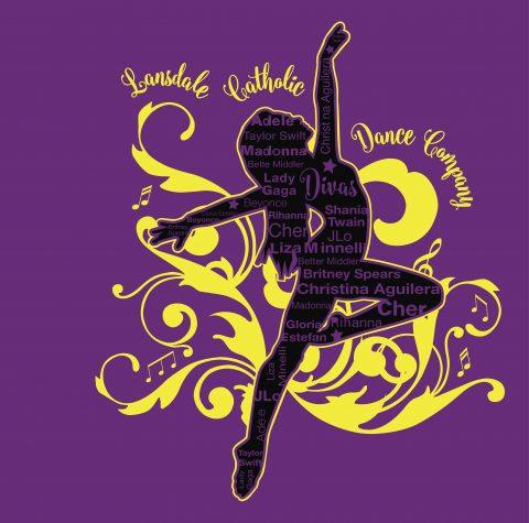 Lansdale Catholic Dance Company print