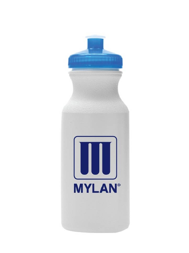 White Sport Water Bottle
