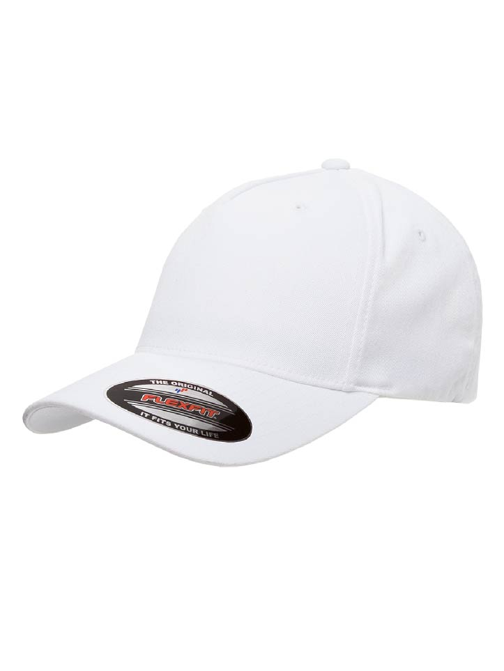 6560 Flexfit Adult 5-Panel Twill Cap