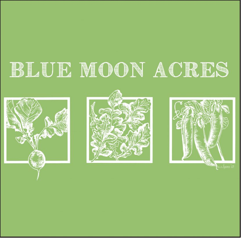 Blue Moon Acres print