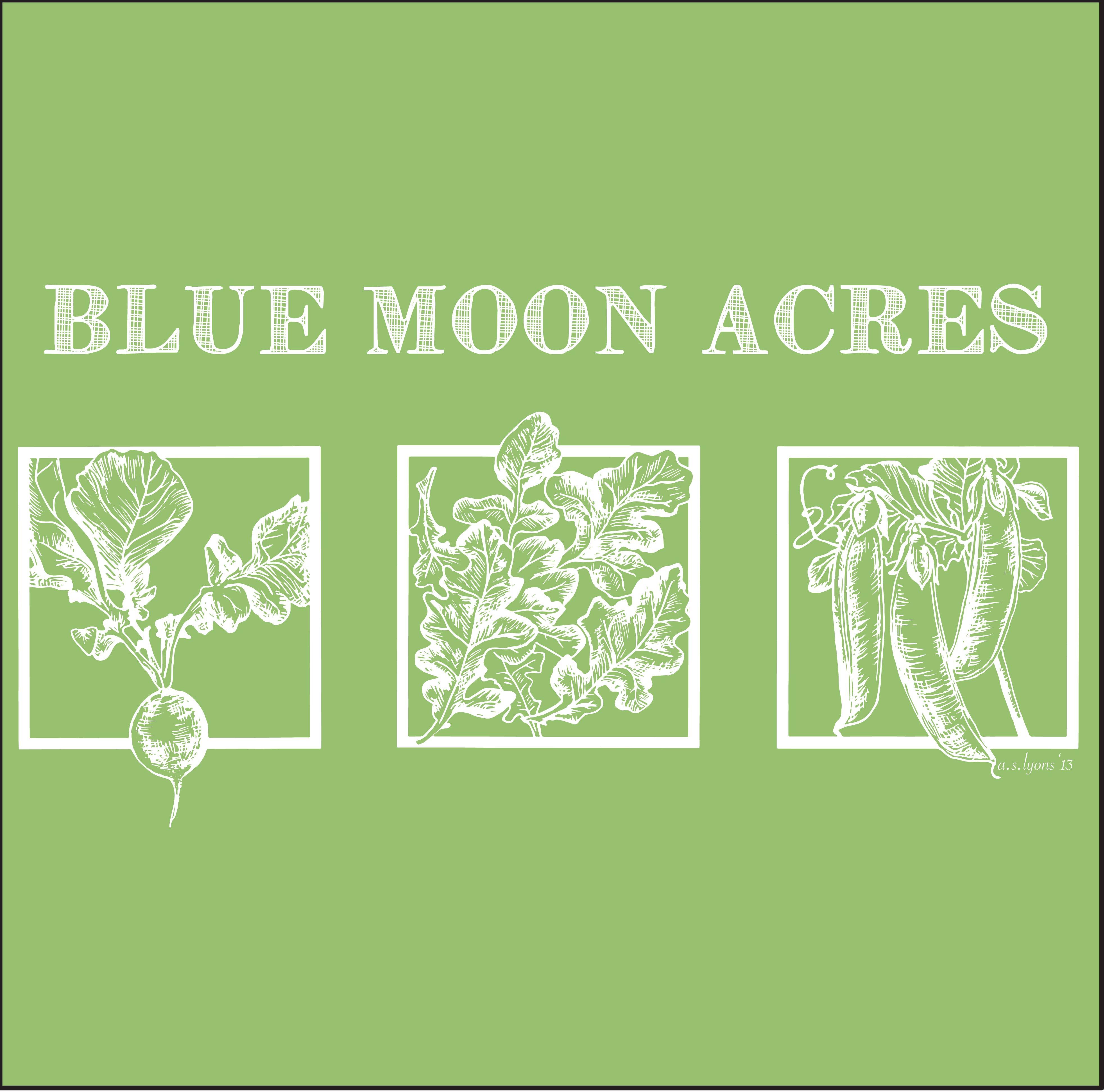 Blue Moon Acres print