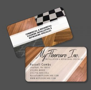 My Floor Care Business Cards