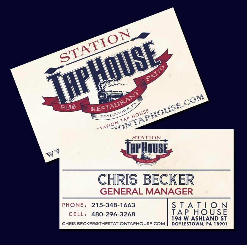 Station Tap House Business Cards