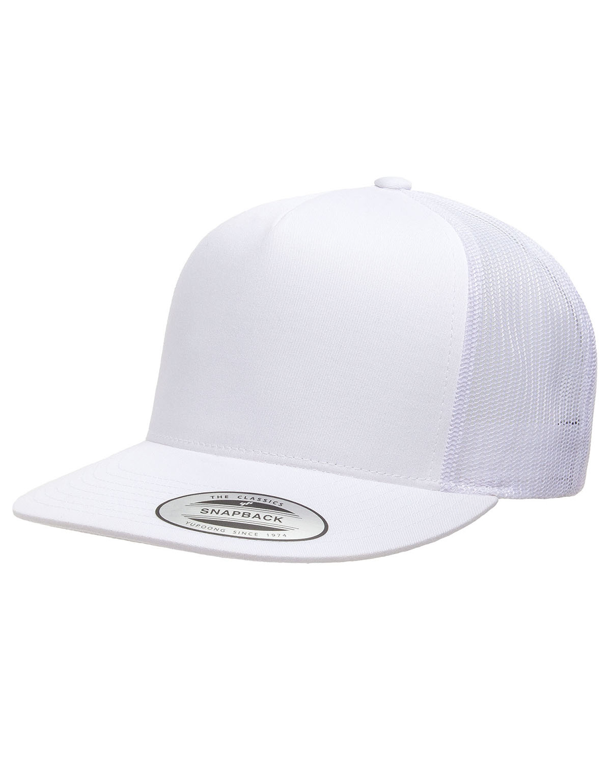 6006 Yupoong Adult 5 -Panel Classic Trucker Cap  f7bb53f2d80