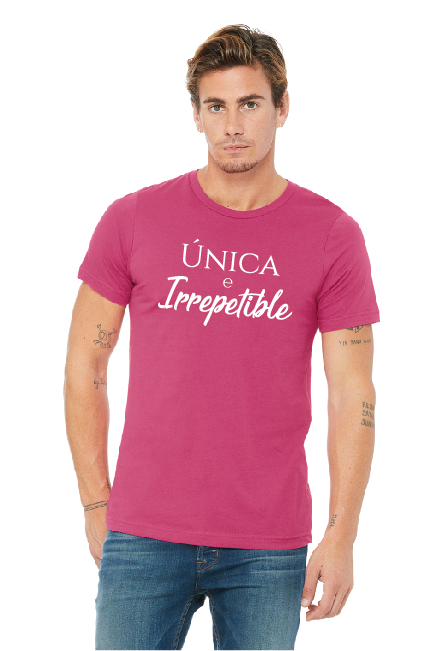 Unica e Ireepetible shirt
